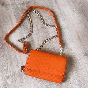 Neiman Marcus Orange 🍊 Wallet crossbody